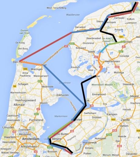 kaart van 2013